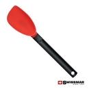 Custom Swissmar® Silicone Scoopatula - Red