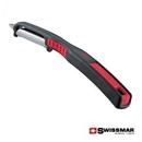 Custom Swissmar® Curve Straight Peeler - Red