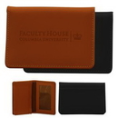 Custom Marin Business Card Wallet, 4 1/2