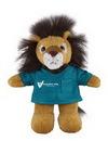 Custom Soft Plush Lion in Scrub Shirt 8