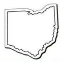 Custom Ohio Notekeeper Magnet- 35 Mil Process Color (2-11/16