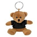 Custom Mini Bear Key Chain, 3 1/2