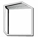 Custom Book Notekeeper Magnet - 20 Mil Process Color (3