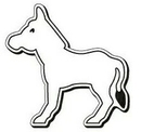 Custom Donkey Note Keeper Magnet- 35 Mil Process Color (3