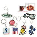 Brainchild Gift Club Custom Pvc Key Tags, 6 Pms Matched Colors (3