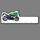 Custom 4Cp Motorcycle Green Racing 6 Inch Ruler