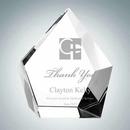 Custom Optical Crystal Glimmer Award (Medium), 4 7/8