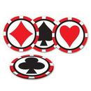 Custom Casino Coasters, 3 1/2