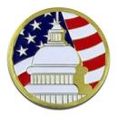 Custom U.S. Capitol Building Pin, 1
