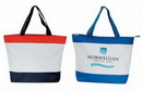 Custom Polyester Deluxe Zipper Tote Bag (20