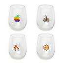 11.75 oz. Stemless Wine Glass, Personalised Wine Glasss, Custom Wine Glass, 4