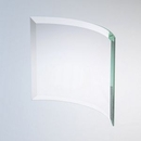Custom Curved Beveled Rectangle Award (8