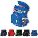 Cooler Bag, Double Compartment 12 Pack Golf Cooler, Lunch Cooler, Travel Cooler, Custom Logo Cooler, 9.25