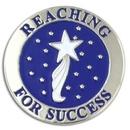 Custom Reaching For Success Lapel Pin, 7/8