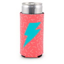 Custom Small Eco Friendly Energy Drink Coolie (4 Color Process), 3 3/4