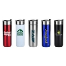 Custom 18 oz Stainless Steel Cup with Stopper, 8.25