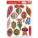Custom Christmas Ornament Clings, 12