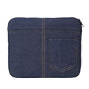Custom Denim Jean Look Mini Tablet/ Ipad Case, 8 1/2