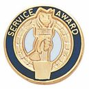Blank Service Award Lapel Pins (Service Award w/Clutch Back), 3/4
