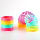 Custom Rainbow Spring Coil Toy, 3