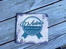 Custom Square Ice Bucket Coaster (Sublimated), 3/16