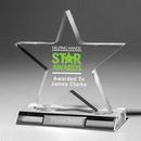 Custom Large Star Award - Laser Engraved