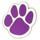 Custom Purple Paw Pin, 1