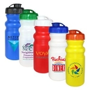 Custom 20 Oz. Cycle Bottle with Flip Top Lid, Full Color Digital, 7 1/4