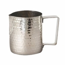 Custom 14 Oz. Hammered Frothing Pitcher, 3.75
