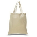 Custom Budget Cotton Canvas Tote, 15