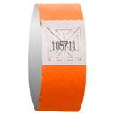 Custom Neon Orange Admission Bracelet