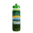 Custom Van Metro Sport Bottle W/ Sleeve & Push-Pull Lid - 4 Color Process, 10