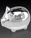 Custom Piggy Bank (3 3/4