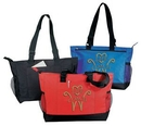 Custom Zipper Poly Tote Bag (20