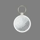 Key Ring & Punch Tag - Golf Ball
