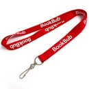 Custom Lanyard Red Polyester 3/4