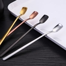 Custom Stainless Steel square Tea Spoon, 6.1