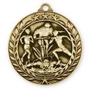 Custom 1 3/4'' Triathlon Medal (G)