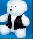 Custom Medium Western Vest for Stuffed Animal