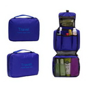 Custom Hanging Travel Toiletry Bag, 8 5/8