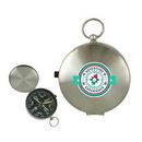 Custom Stainless Steel Compass, 1 7/8