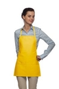 Custom Two Pocket Promo Bib Apron - Non-Adjustable Neck, 22