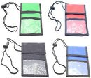 Blank Neck Wallet Event Badge Holder Pouch, 5