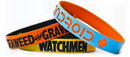 Custom Color Coat Silicone Wristbands, 8