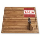 Custom Premium Bamboo Cheese Board Set, 10
