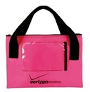 Custom Neon Bag w/ Clear Pocket, 11 3/4