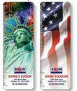 Custom Stock Design- Animated Flip Image - Bookmark / Ruler (Patriotic), 2 1/8