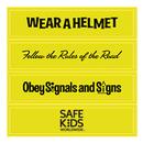Custom RF265 - Set of 4 Helmet Reflectors