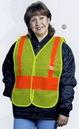 Custom Snap N Wear Safety Vest w/ Elastic & Velcro Side Adjustments