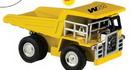 Custom Yellow Dump Truck Clock, 4